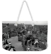 Iraq Al Manshiyya Evacuation 1948 Weekender Tote Bag