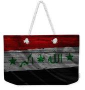 Iraq Weekender Tote Bag