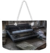 Iraq Typewriter  Weekender Tote Bag
