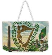 Irelands Historical Emblems Weekender Tote Bag