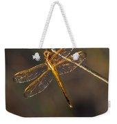 Iridescent Dragonfly Wings Weekender Tote Bag