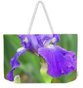 Iridescent Flower Weekender Tote Bag