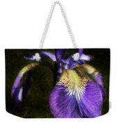 Iris Baroque Weekender Tote Bag