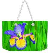 Iris Blossom Weekender Tote Bag