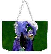 Iris Blues Weekender Tote Bag
