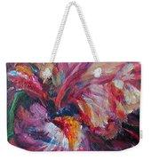 Iris - Bold Impressionist Painting Weekender Tote Bag
