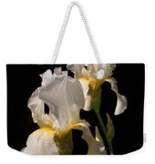 Iris Cream Weekender Tote Bag