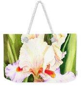 Iris Flower Dancing Petals Weekender Tote Bag