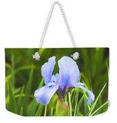 Pale Purple Iris - Impressions Of Spring Weekender Tote Bag