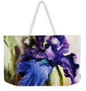 Iris In Bloom 2 Weekender Tote Bag