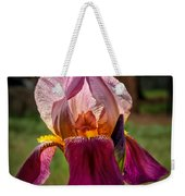 Iris In The Spotlight Weekender Tote Bag