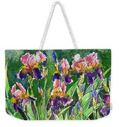 Iris Inspiration Weekender Tote Bag