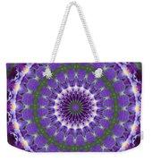 Iris Kaleidoscope  Weekender Tote Bag