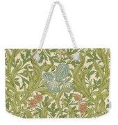 Iris Pattern Weekender Tote Bag