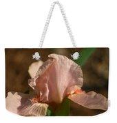 Iris Peach Rose 1 Weekender Tote Bag