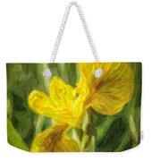Iris Pseudacorus Yellow Flag Iris Weekender Tote Bag