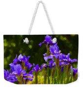 Iris Radiance Weekender Tote Bag
