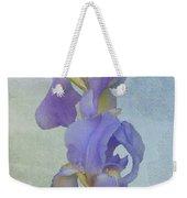 Iris Texture Weekender Tote Bag