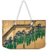 Irises At Yatsuhashi. Eight Bridges Weekender Tote Bag