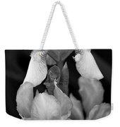 Irises In Black And White Weekender Tote Bag