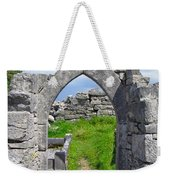 Irish Church Ruins Weekender Tote Bag