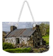 Irish Cottage Ruins Weekender Tote Bag