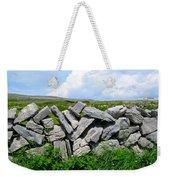 Irish Stone Wall Weekender Tote Bag