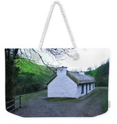 Irish Thatched Roof Cottage Weekender Tote Bag