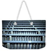 Iron Benches Weekender Tote Bag