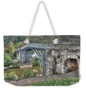 Iron Bridge Weekender Tote Bag