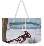 Iron Buoy And Mighty Mac Weekender Tote Bag