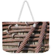 Iron Cables Weekender Tote Bag