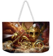 Iron Dragon Weekender Tote Bag