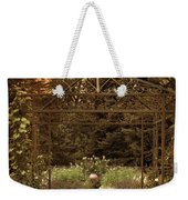 Iron Entrance Weekender Tote Bag by Jessica Jenney