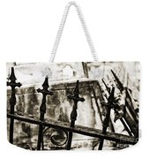 Iron Guard - Sepia Toned Weekender Tote Bag