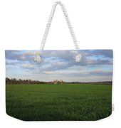 Great Friends Iron Horse Wheat Field And Silos Weekender Tote Bag