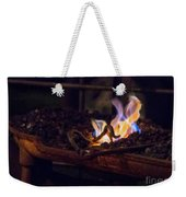 Iron In Fire Oiltreatment Weekender Tote Bag