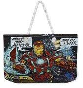 Iron Man Graffiti Weekender Tote Bag