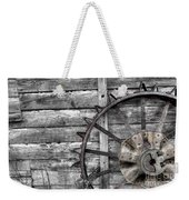 Iron Tractor Wheel Weekender Tote Bag