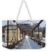 Iron Works Weekender Tote Bag
