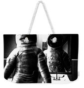 The Astronaut And The Bathroom Weekender Tote Bag