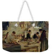 Ironing Workshop In Trouville Weekender Tote Bag