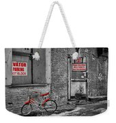 Irony In The Alley Weekender Tote Bag