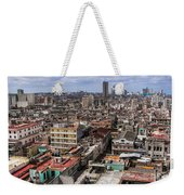Irony Of Cuba Weekender Tote Bag