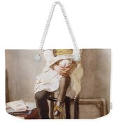 Is It Time Weekender Tote Bag by John Henry Henshall