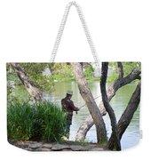 Is The Fisherman Real? Weekender Tote Bag