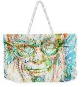Isaac Asimov Portrait Weekender Tote Bag