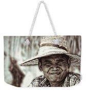 Isaan Rice Farmer Weekender Tote Bag