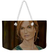 Isabelle Huppert Painting Weekender Tote Bag