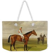 Isinglass Winner Of The 1893 Derby Weekender Tote Bag by Emil Adam